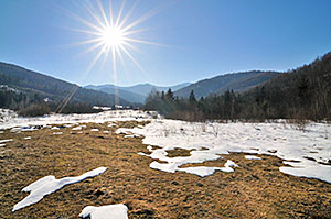 Snow is only just starting to melt at lower elevations in the Kootenay Boundary and could continue to accumulate at higher elevations even after spring officially arrives March 19. Residents need to think now about preparing for the 2020 freshet.